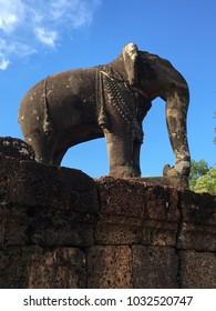 Elephant Statue - Siem Reap, Cambodia