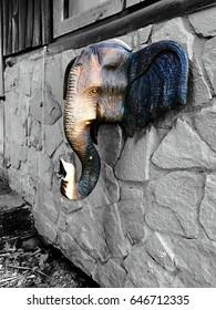 Elephant stucco