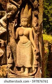 Elephant terace of Angkor, Cambodia