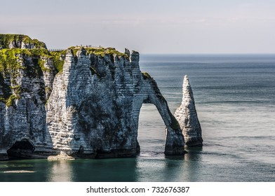 The Elephant-Cliff in Etretat, France