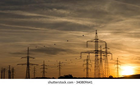 Eletcric sunset