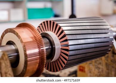 Eletric motor rotor