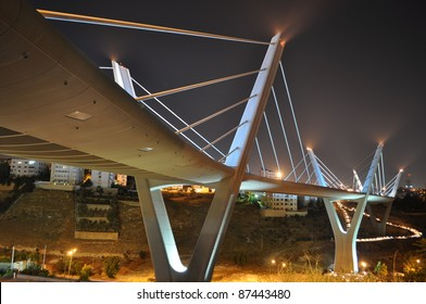 Elevated express way in Amman,Jordan