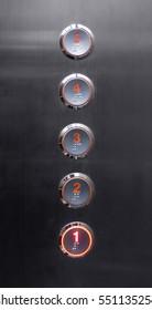Elevator bottons