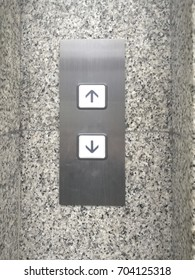 Elevator Call Panel, Up and Down Buttons
