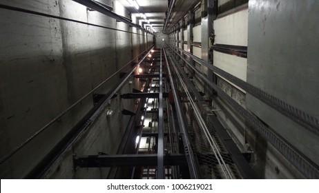 Elevator Elevator doors Shaft