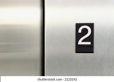 elevator floor number 2