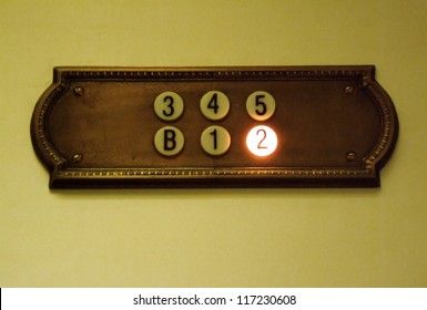 Elevator floor numbers