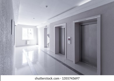 elevators in an apartment building