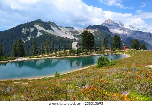 Elfin Lakes in Garibaldi Provincial Park in British Columbia, Canada
