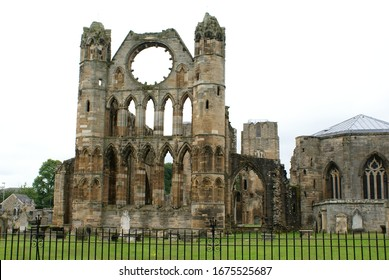 Elgin, Scotland (UK): the ruins of the Cathedral