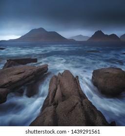 Elgol on the Isle of Skye, Scotland