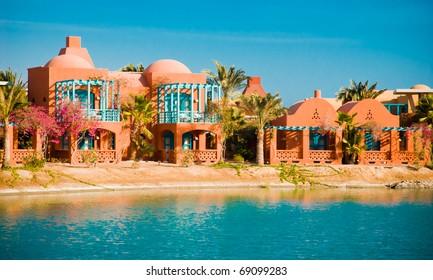 ElGouna Resort views