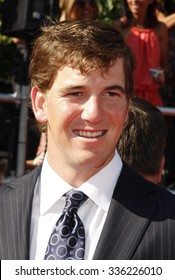 Eli Manning at the 2012 ESPY Awards held at the Nokia Theatre L.A. Live in Los Angeles, USA on July 11, 2012.