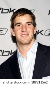 Eli Manning at Rbk Allen Iverson Answer IX basketball shoe launch, The Canal Room, New York, NY, October 17, 2005