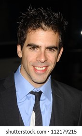 "Eli Roth at the Los Angeles premiere of ""Grindhouse"". Orpheum Theatre, Los Angeles, CA. 03-26-07"