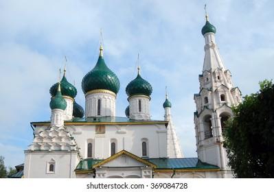 Elijah the Prophet church in Yaroslavl, Russia. UNESCO World Heritage Site.