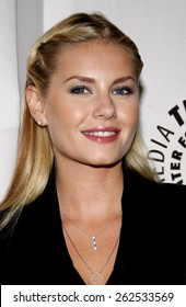 Elisha Cuthbert at the Paley Center For Media Presents An Evening With 'Happy Endings' held at the Paley Center for Media in Beverly Hills on August 29, 2011.