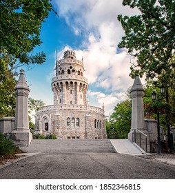 Elizabeth Lookout in Budapest, Hungary