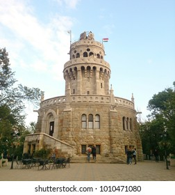Elizabeth lookout located in Budapest, Hungary