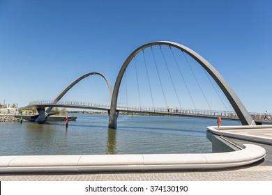 Elizabeth Quay on Perths waterfront