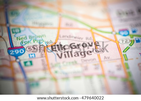 Elk Grove Village Illinois Usa Stock Photo Edit Now 479640022