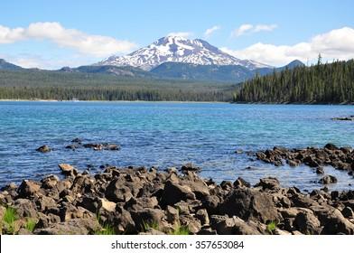 Elk Lake, Oregon, U.S.A.