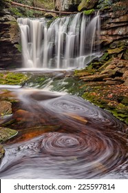 Elkala Falls from Blackwater Falls State Park in West Virginia.