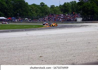 Elkhart Lake, Wisconsin- June 23, 2019: 28 Ryan Hunter-Reay, USA, Andretti Autosport, NTT Indycar race at Road America.