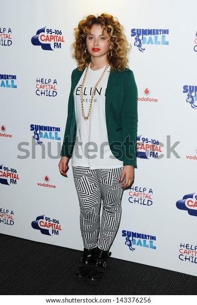 Ella Eyre at the Capital FM Summertime ball 2013 held at Wembley Stadium, London. 09/06/2013