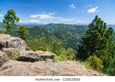 Ella seen from Ella Rock, Sri Lanka
