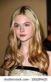 Elle Fanning at the  2nd Annual Academy Governors Awards, Kodak Theater, Hollywood, CA.  11-14-10