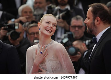 "Elle Fanning   attends the closing ceremony screening of ""The Specials"" during the 72nd annual Cannes Film Festival on May 25, 2019 in Cannes, France."