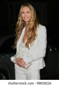 Elle MacPherson arriving for the Rodila Beautiful Awards, at the Sanderson Hotel, London. 06/03/2012 Picture By: Alexandra Glen / Featureflash