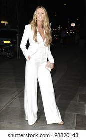 Elle MacPherson arriving for the Rodila Beautiful Awards, at the Sanderson Hotel, London. 06/03/2012 Picture By: Steve Vas / Featureflash