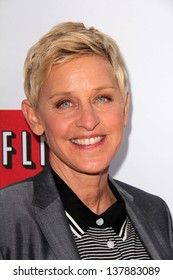 "Ellen Degeneres at the ""Arrested Development"" Los Angeles Premiere, Chinese Theater, Hollywood, CA 04-29-13"