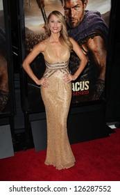 """Ellen Hollman at the """"Spartacus: War Of The Damned"""" Los Angeles Premiere, Regal Cinemas, Los Angeles, CA 01-22-13"""