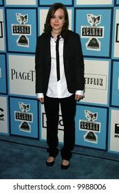 Ellen Page at the 2008 Film Independent Spirit Awards at Santa Monica Beach, Santa Monica, California.
