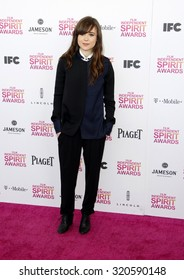 Ellen Page at the 2013 Film Independent Spirit Awards held at the Santa Monica Beach in Los Angeles, United States on February 23, 2013.