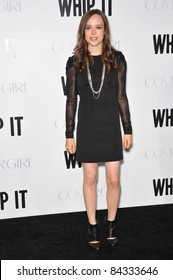 """Ellen Page at the Los Angeles premiere of her new movie """"Whip It"""" at Grauman's Chinese Theatre, Hollywood. September 29, 2009  Los Angeles, CA Picture: Paul Smith / Featureflash"""