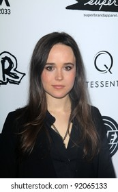 """Ellen Page at the """"Super"""" Los Angeles Premiere, Egyptian Theater, Hollywood, CA. 03-21-11"""