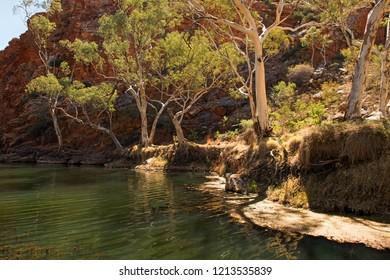 Ellery Creek Big Hole, MacDonnell Ranges, Northern Territory, Australia