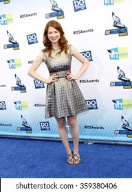 Ellie Kemper at the 2012 Do Something Awards held at the Barker Hangar in Los Angeles, USA on August 19, 2012.