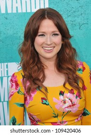 Ellie Kemper at the 2012 MTV Movie Awards at Universal Studios, Hollywood. June 4, 2012  Los Angeles, CA Picture: Paul Smith / Featureflash