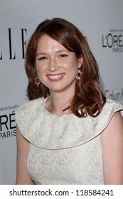 Ellie Kemper at the Elle Magazine 17th Annual Women in Hollywood, Four Seasons, Los Angeles, CA 10-15-12