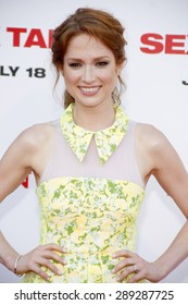 """Ellie Kemper at the Los Angeles premiere of """"Sex Tape"""" held at the Westwood Regency Theatre in Los Angeles, United States, 10-07-14."""