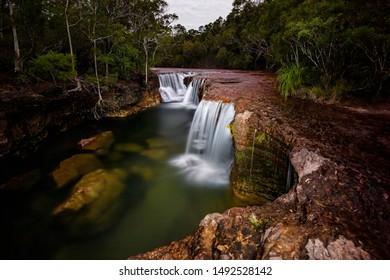Elliot Falls at night, Cape York, Queensland