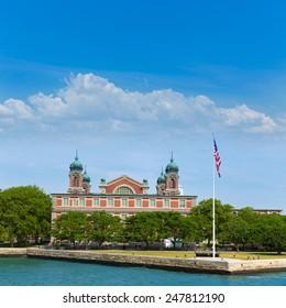 Ellis Island Immigration Museum Jersey city New York US