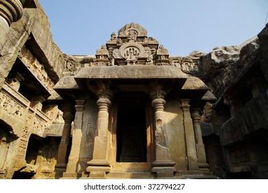 Ellora cave in Aurangabad India for world heritage travel location