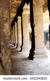 Ellora cave in Hindu temple India